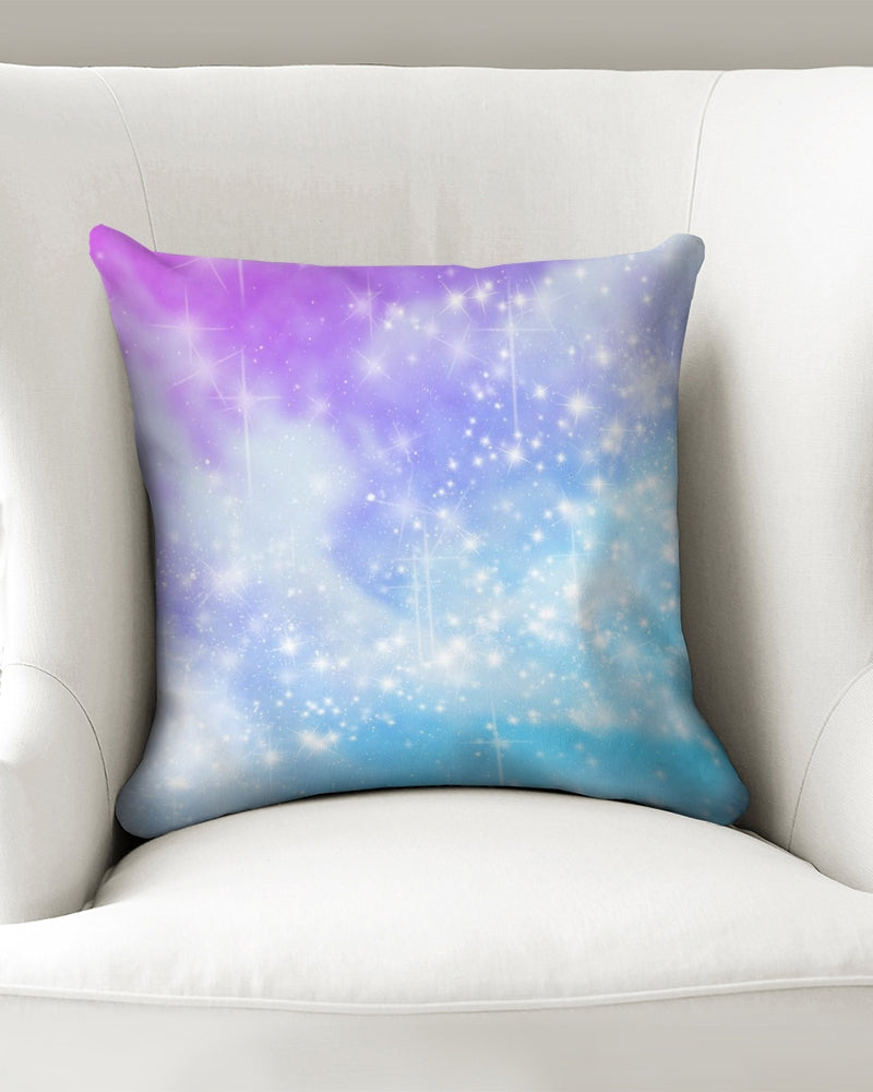 "Cosmic Throw Pillow Case 16""x16"""