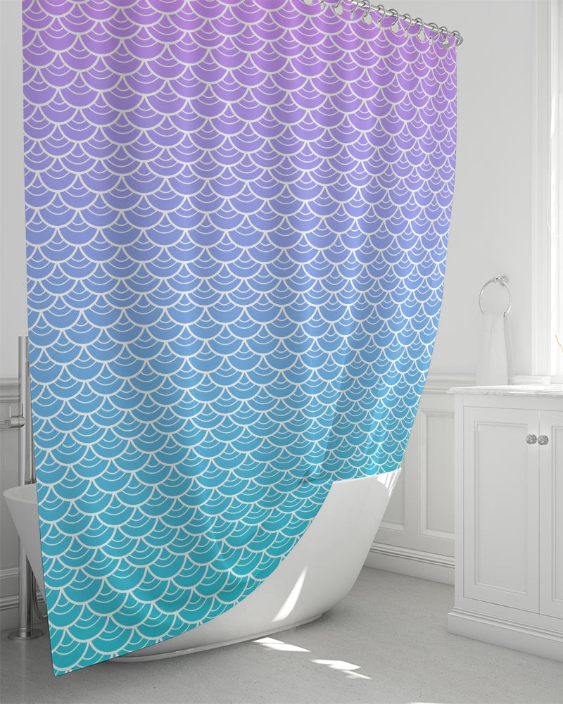 "Sea Siren Shower Curtain 72""x72"""