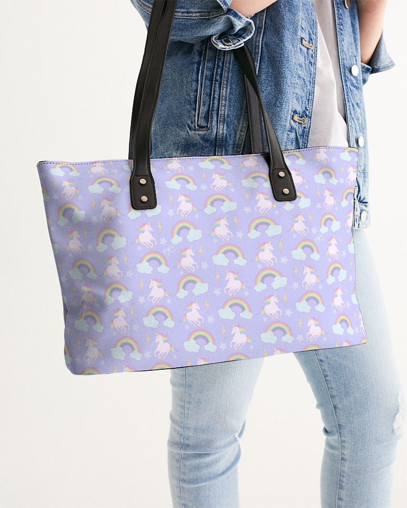 Unicorns & Rainbows Stylish Tote