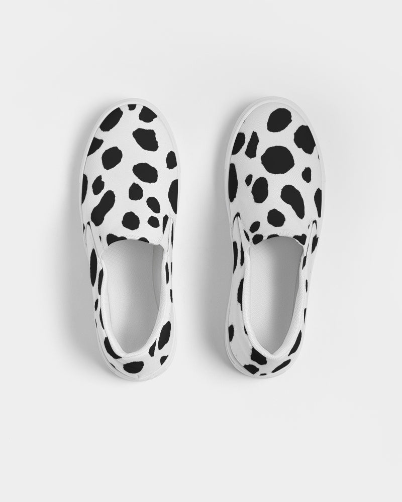 Dalmatian Women's Slip-On Canvas Shoe