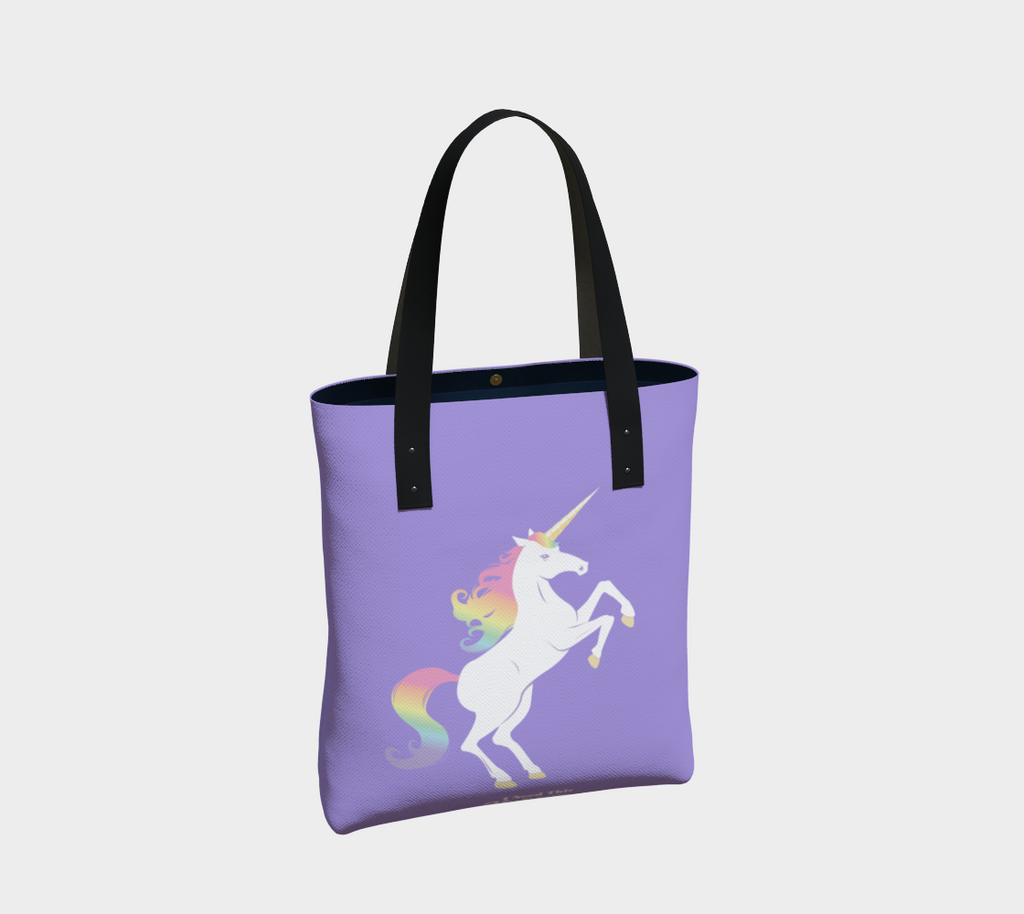 Legendary Rainbow Unicorn Tote Bag