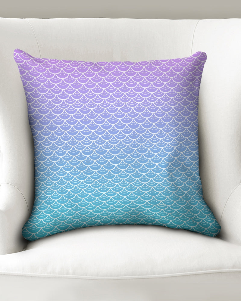 "Sea Siren Throw Pillow Case 18""x18"""