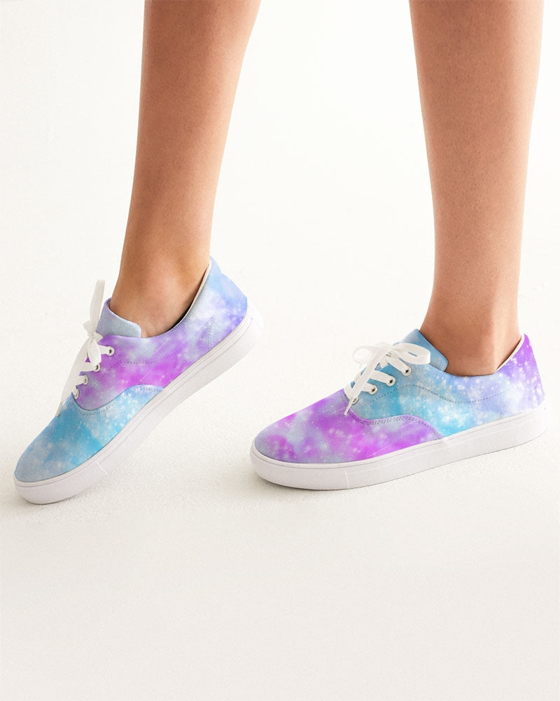 Cosmic Women's Lace Up Canvas Shoe