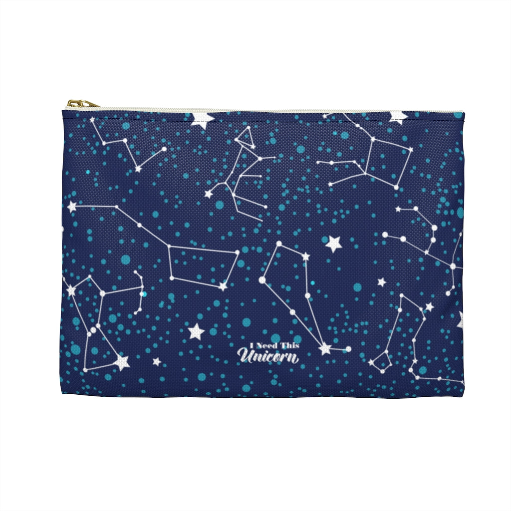 Constellations Cosmetic Pouch