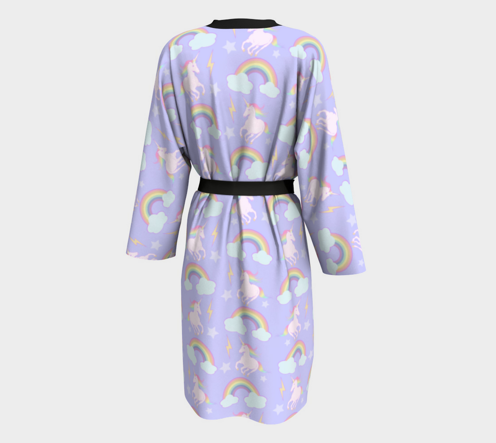 Unicorns & Rainbows Pegnoir Robe