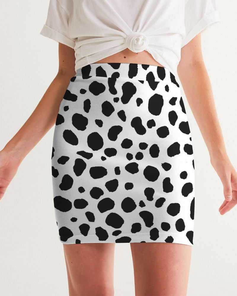 Dalmatian Women's Mini Skirt