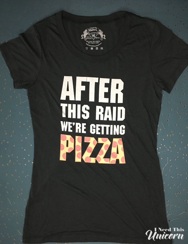 After This Raid Women's Tee