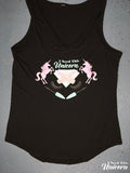 I Need This Unicorn Pastel Beauty Emblem V-Neck Tank