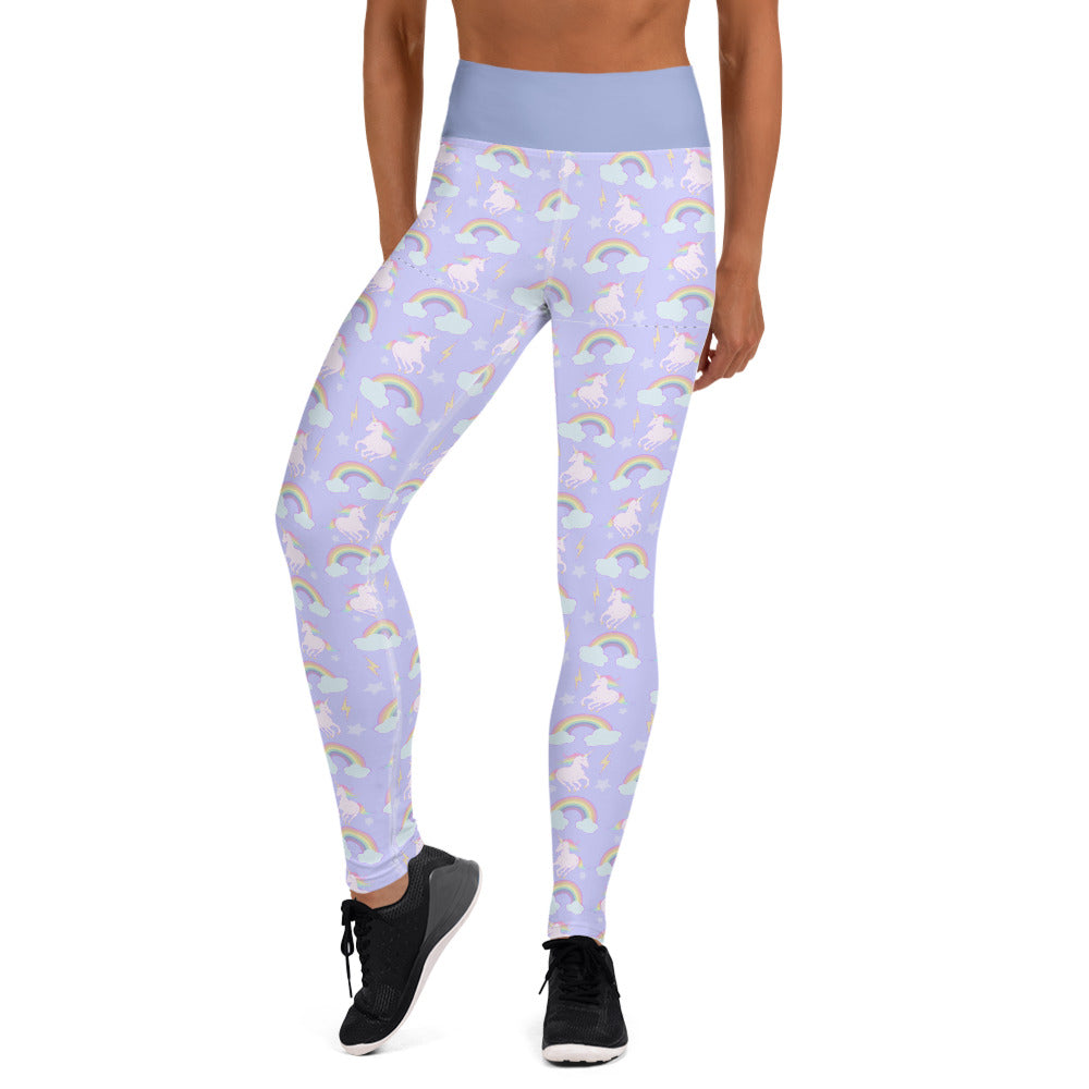 Unicorns & Rainbows Yoga Leggings