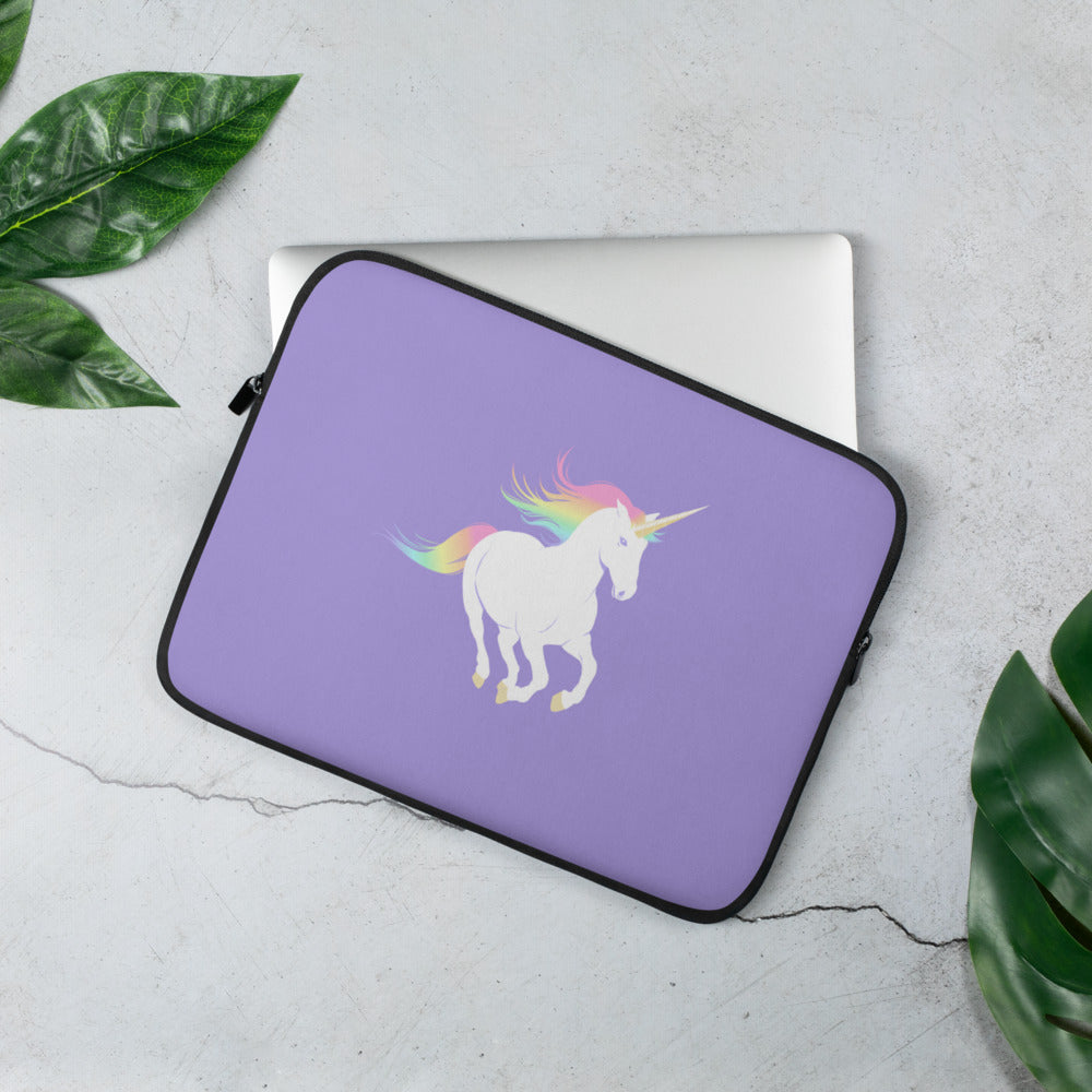 Rainbow Unicorn Laptop Sleeve