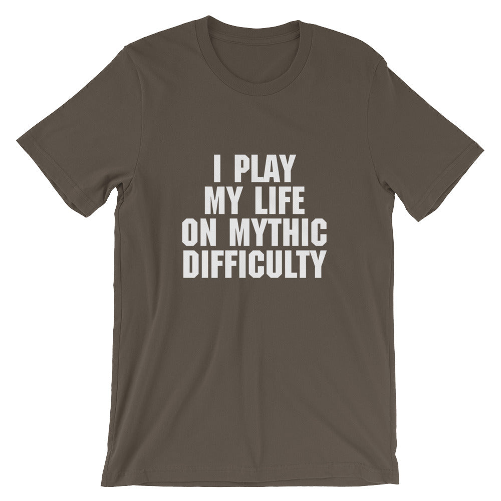 Mythic Difficulty Men's T-Shirt