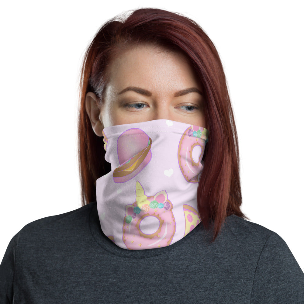 Unicorn Party Neck Gaiter