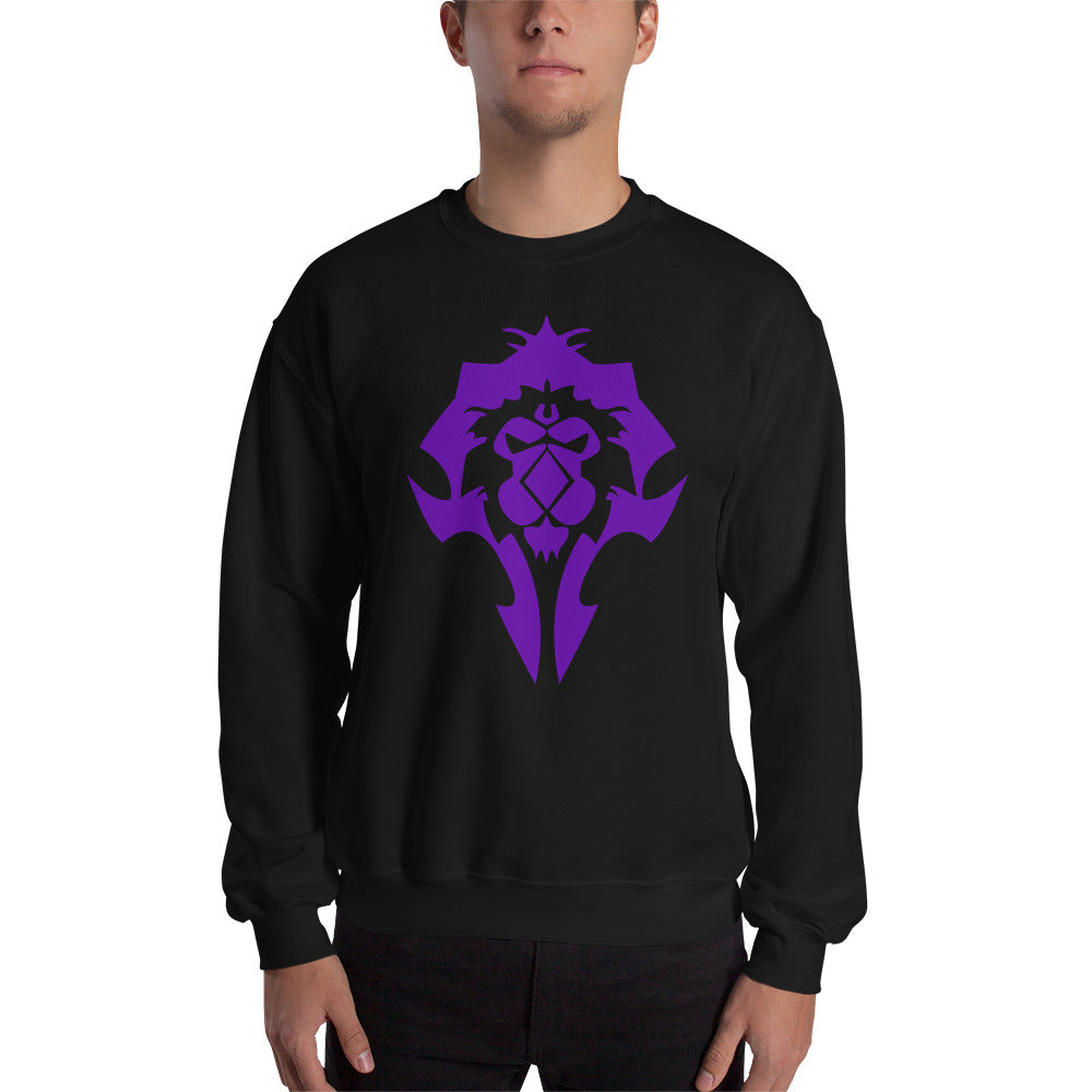 Real WoW Players Play Both Sides Sweatshirt