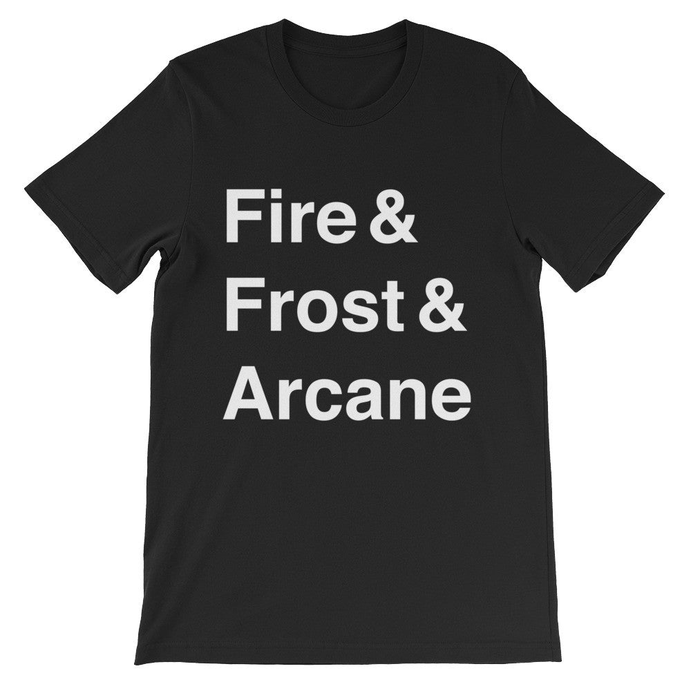 Mage Men's Tee (White Text)