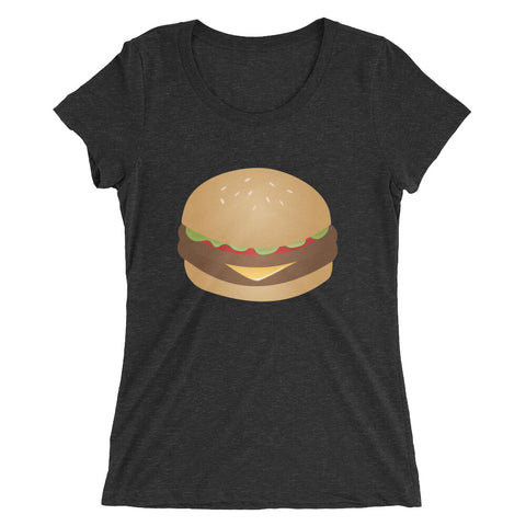 Double Cheeseburger Women's T-Shirt