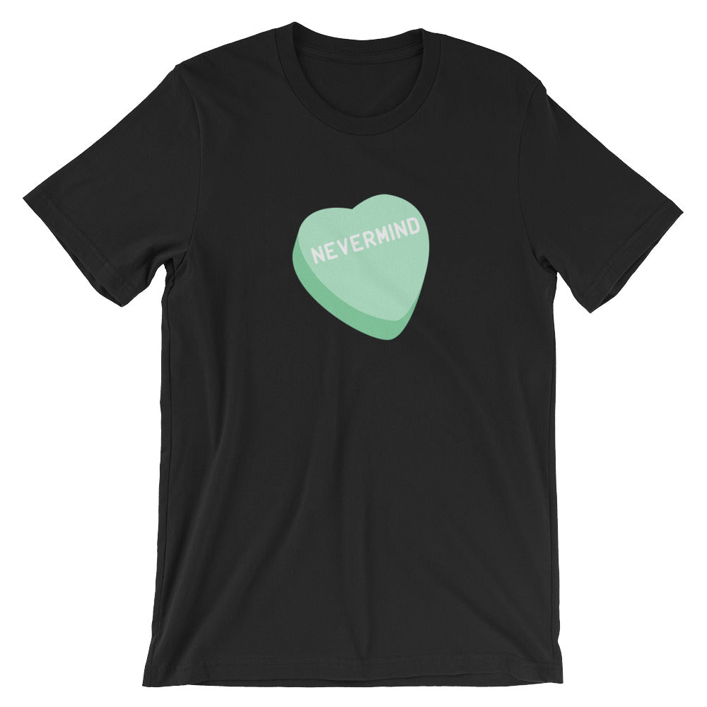 Nevermind Candy Heart Men's T-Shirt