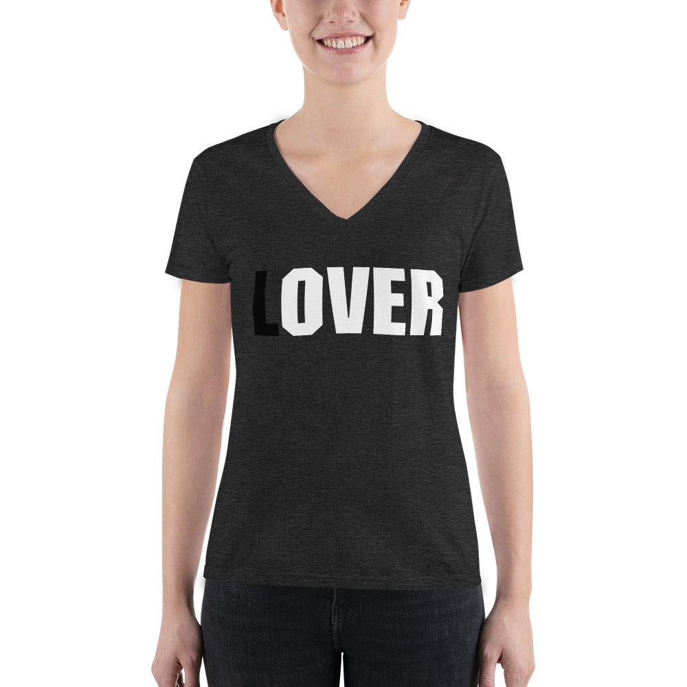 (L)OVER Women's V-Neck T-Shirt