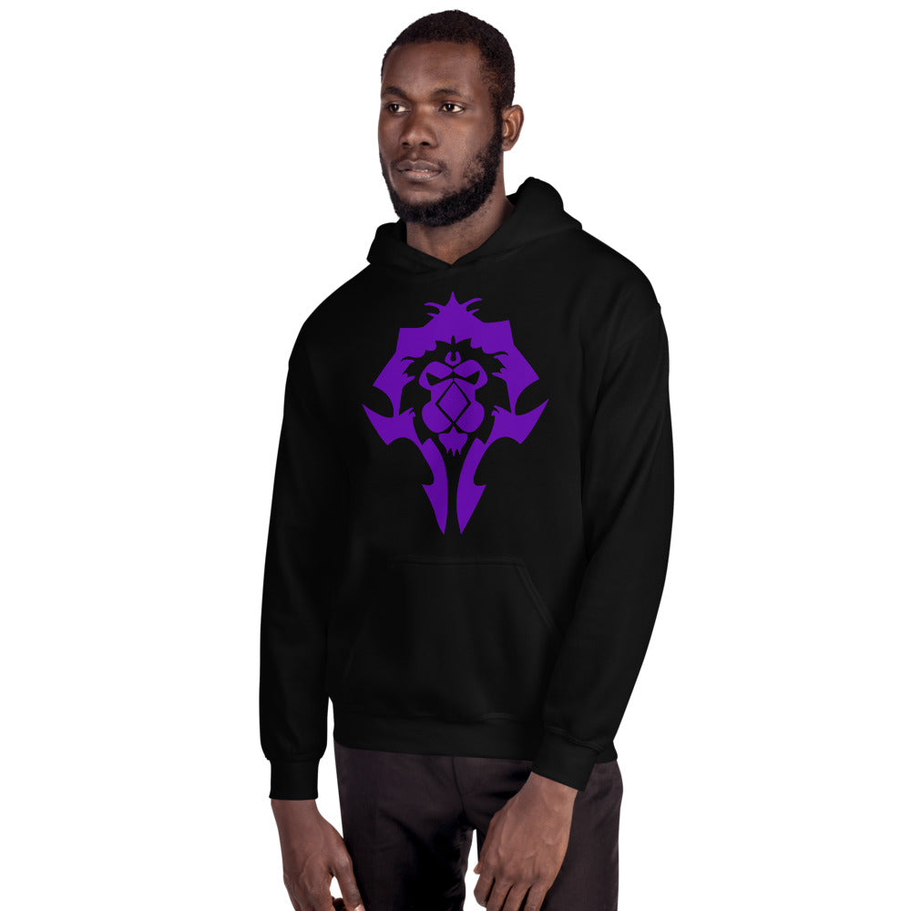 Real WoW Players Play Both Sides Hoodie