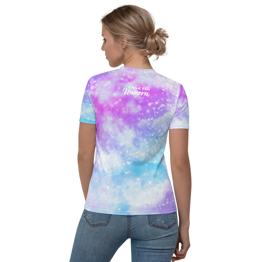 Pastel Galaxy Women's V-neck