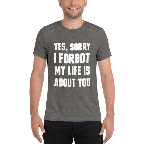 Rude Family Questions: Life Decisions Edition Men's Tee
