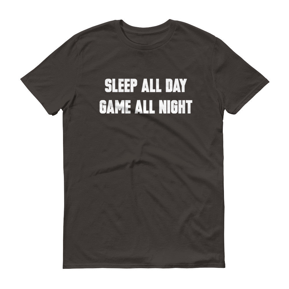 Sleep All Day Gamer Men's Tee