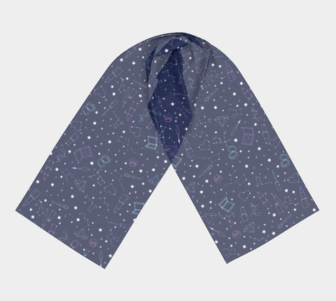 Beauty Constellations Long Scarf