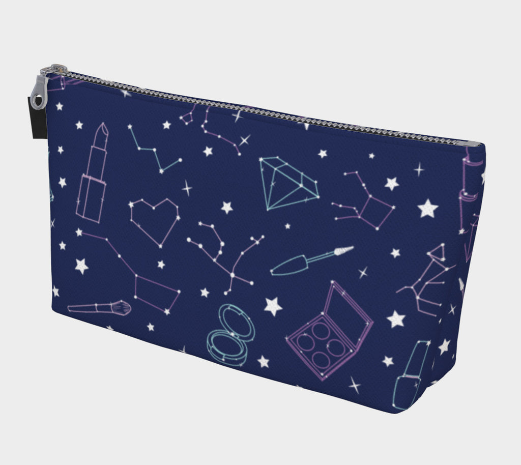 Beauty Constellations Cosmetic Bag