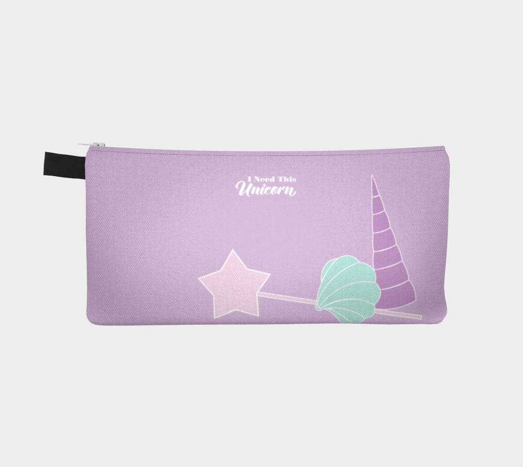 Mythical Creatures Slim Makeup Bag