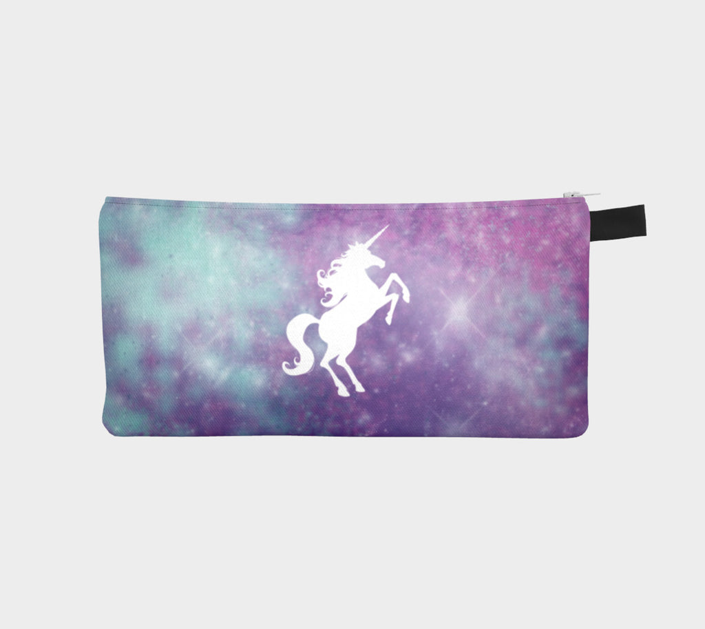 Cosmic Unicorn Slim Makeup Bag