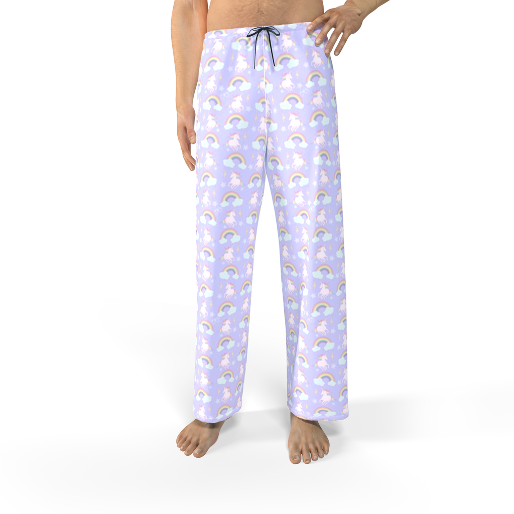 Unicorns & Rainbows Jersey Pajama Bottoms (Men & Women)