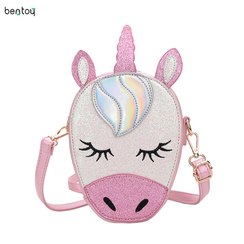 Sweet Little Unicorn Crossbody Purse