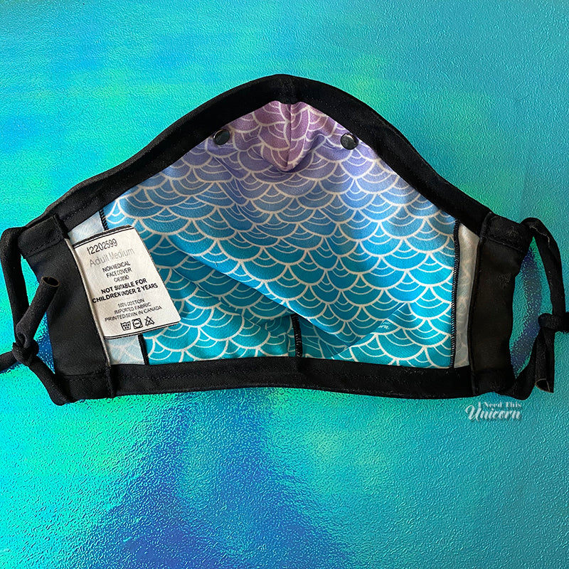 Sea Siren Face Mask