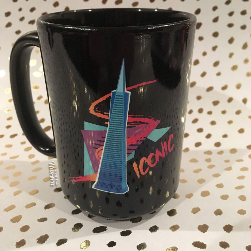 Ultra 80's San Francisco Black Mug