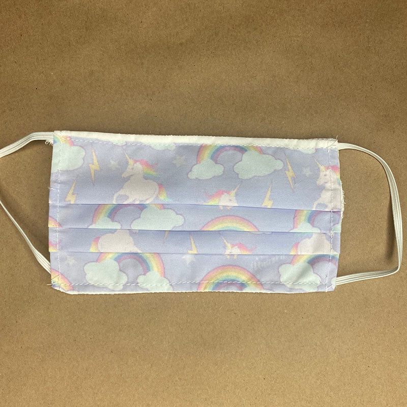 Unicorns and Rainbows Face Mask Cover