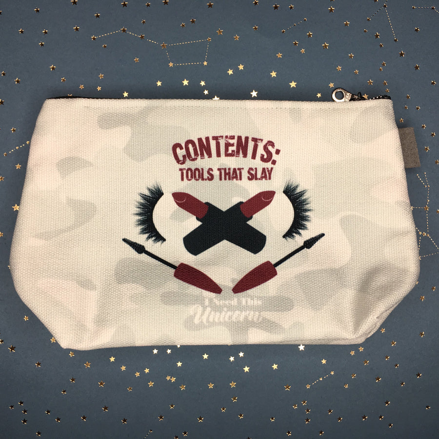 Zombie Eradication Kit Cosmetic Bag