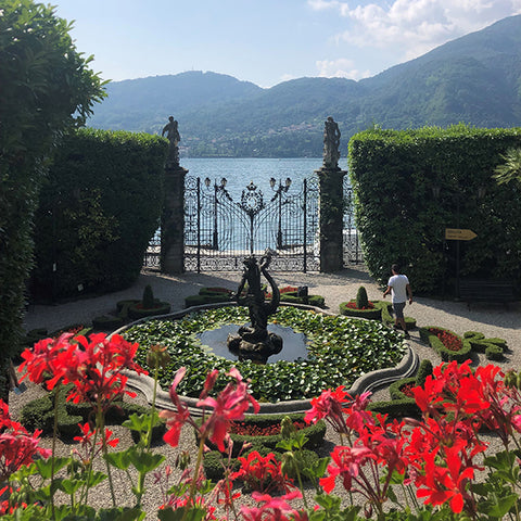 Bvlgari Splendida Tubereuse Mystique Lake Como Press Trip