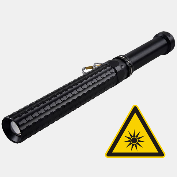 Powerful LED Tactical Baton Telescopic Torch