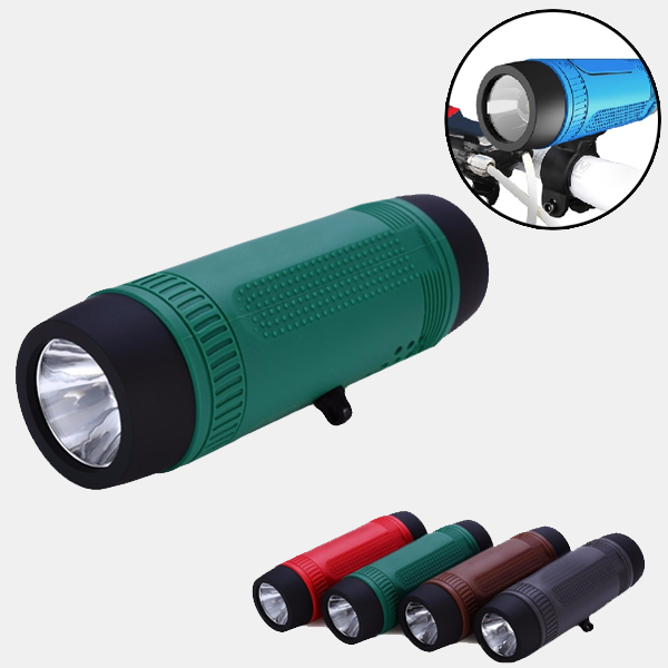 Outdoor Speaker Bicycle Tactical Flashlight