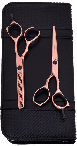 MATSUI PRECISION ROSE GOLD SCISSOR AND THINNER COMBO