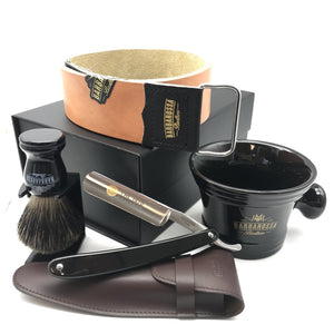 "The 1470 Resin 5/8"" Deluxe Straight Razor Set"