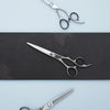 2020 Matsui Swarovski Crystal Elegance Scissors & Thinning Shears Combo (Limited Edition) (1693636919357)