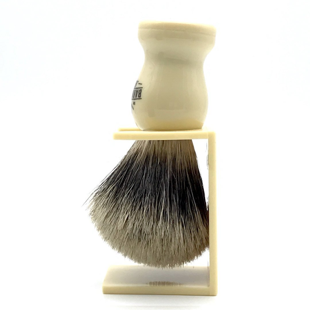 Shaving Brush Cream Badger w/ stand (1667452796989)