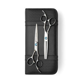 2020 Matsui Swarovski Elegance Sky Blue Scissors & Thinning Shears Combo (Limited Edition)