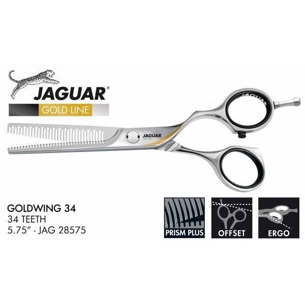 Jaguar Gold Wing 34 Tooth 5.75 Inch Thinner. - Scissor Tech Australia