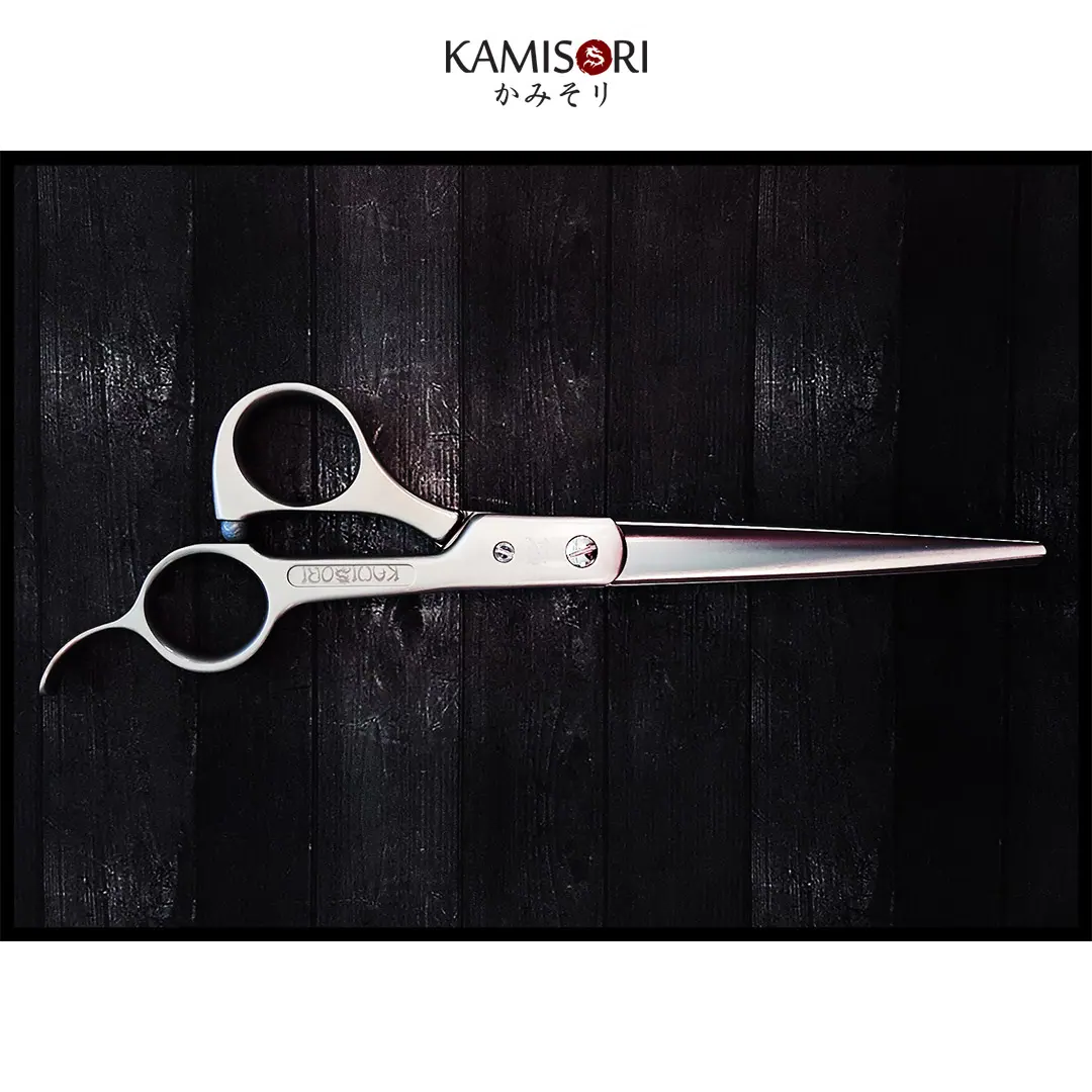 "KAMISORI ERGO 7"" Barber Professional Haircutting Shears (752259432509)"