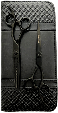 Matsui Black Magic Offset Scissors & Thinner Combo