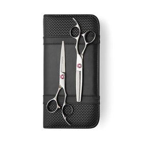 2020 Matsui Swarovski Elegance Pink Scissors & Thinning Shears Combo (Limited Edition)