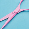 Matsui 2020 Neon Pink Offset Scissors & Thinning Shears Combo