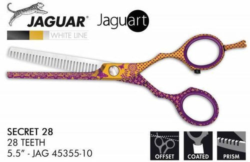 Jaguar Art Secret 5.5 Inch 28 Tooth Thinner - Scissor Tech Australia