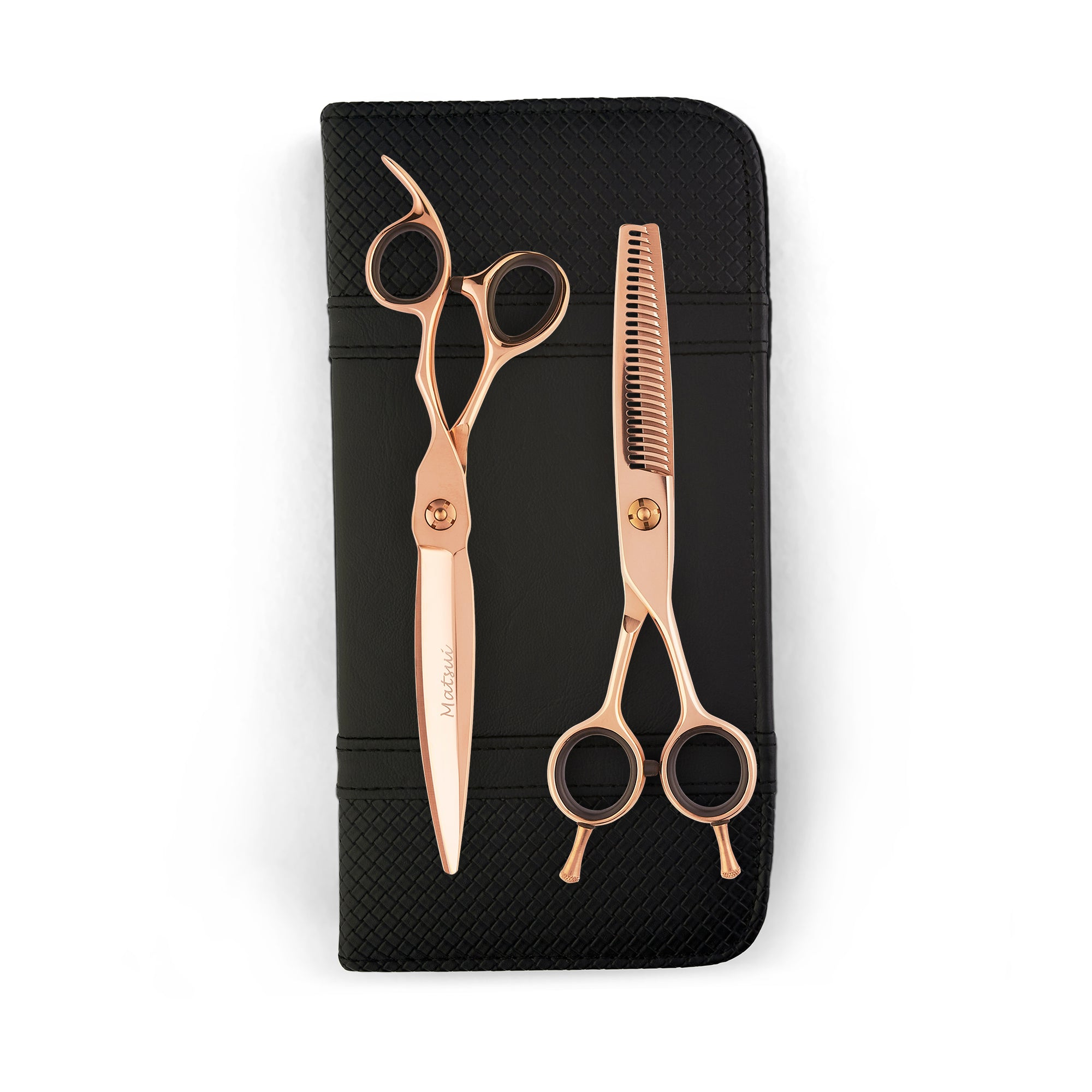 Matsui VG10 Sword Scissor Thinner Combo - Rose Gold (4540276899901)
